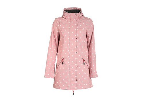 Blutsgeschwister Softshell-Parka | wild weather long anorak | marilyns dots