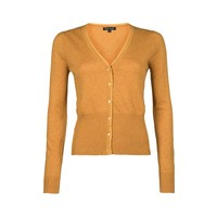 Cardigan | Cardi V Cocoon | Honey Yellow