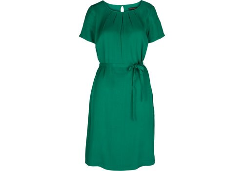 King Louie Kleid | Billie Dress Satin Viscose Woven | Meadow Green