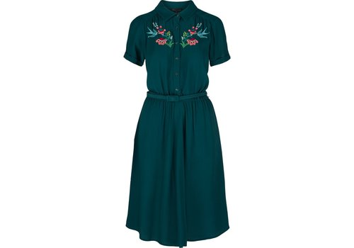 King Louie Kleid | Olive Dress Showtime | Dragonfly Green