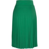 Rock   Border Plisse Skirt Soleil   Peapod Green