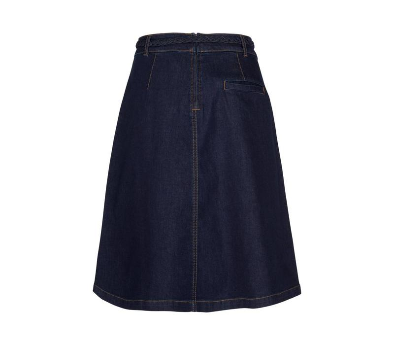 Rock | Rosa Skirt Denim | Ink Blue