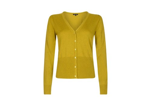 King Louie Cardigan | Cardi V Cocoon | Spring Yellow