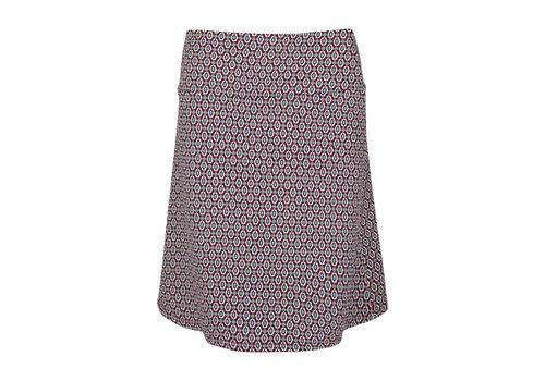 King Louie Rock | Border Skirt Ascot | Beaujolais Red