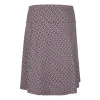 Rock | Border Skirt Ascot | Beaujolais Red