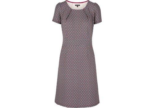 King Louie Kleid | Mona Dress Ascot | Beaujolais Red