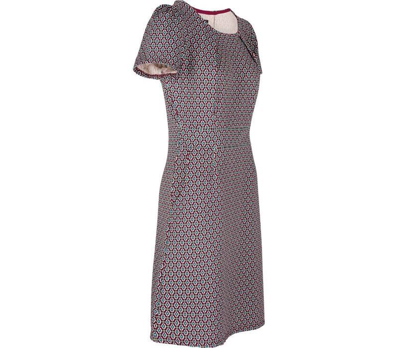 Kleid | Mona Dress Ascot | Beaujolais Red