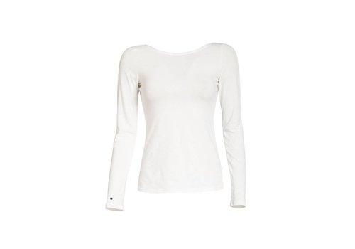 Blutsgeschwister Shirt | logo longsleeve | white sparkling spume