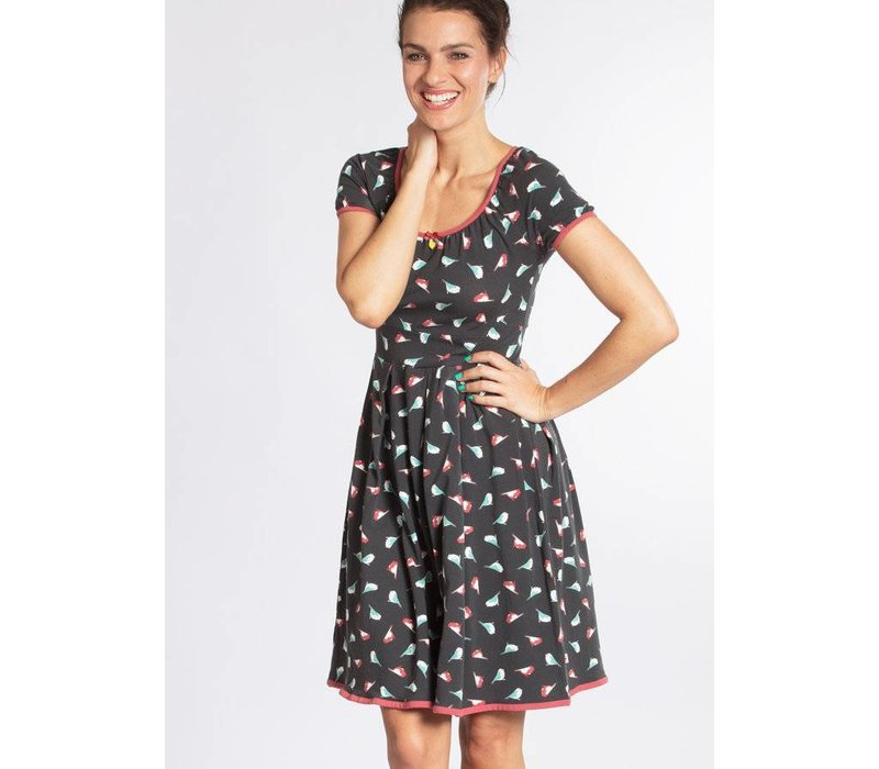 Kleid | marylins cottage dress | birds of berlin