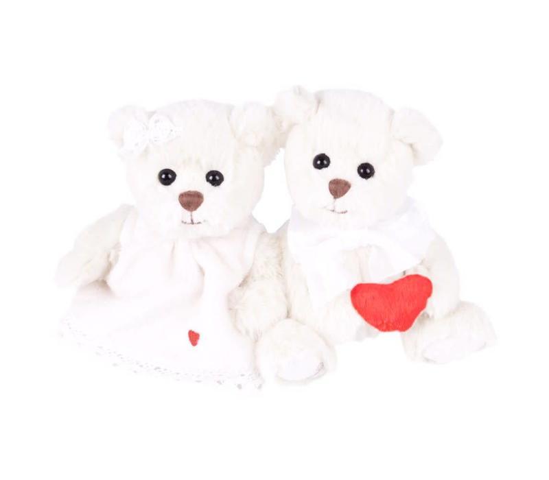 Herz Teddy | Oliver & Melissa