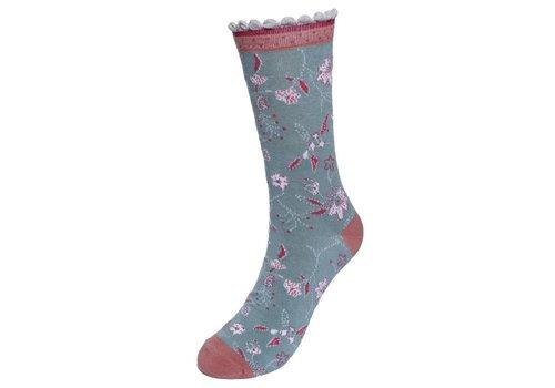 Sorgenfri Sylt Socken | Irma Romantic | misty green