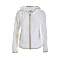 Sweatshirt | FULL ZIP HOODIE | WHITE