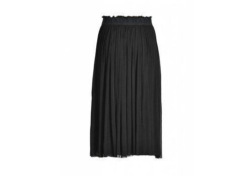 DEHA Rock | LONG TULLE SKIRT | BLACK