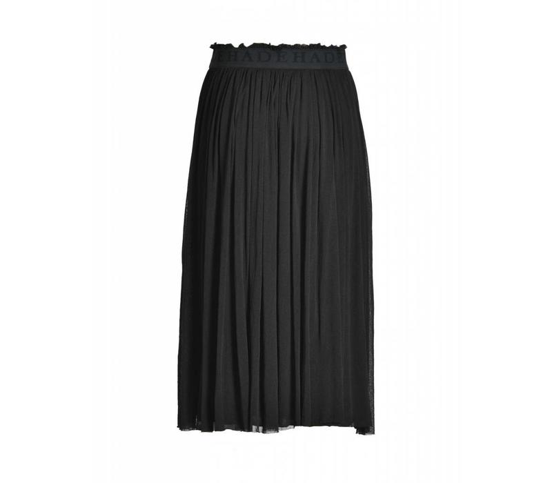 Rock | LONG TULLE SKIRT | BLACK