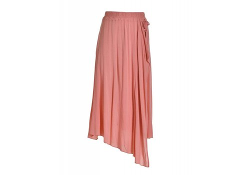 DEHA Rock | LONG PETAL SKIRT | CORAL