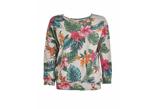 DEHA Sweatshirt | CREW-NECK SWEATSHIRT | SUMMERPRINT