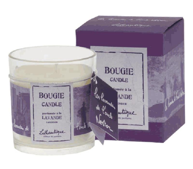 Lavendel Duftkerze 140g | Les Lavandes de l'oncle Nestor
