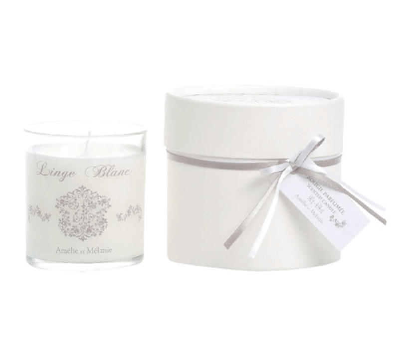 Duft Kerze 140gr  | Linge blanc