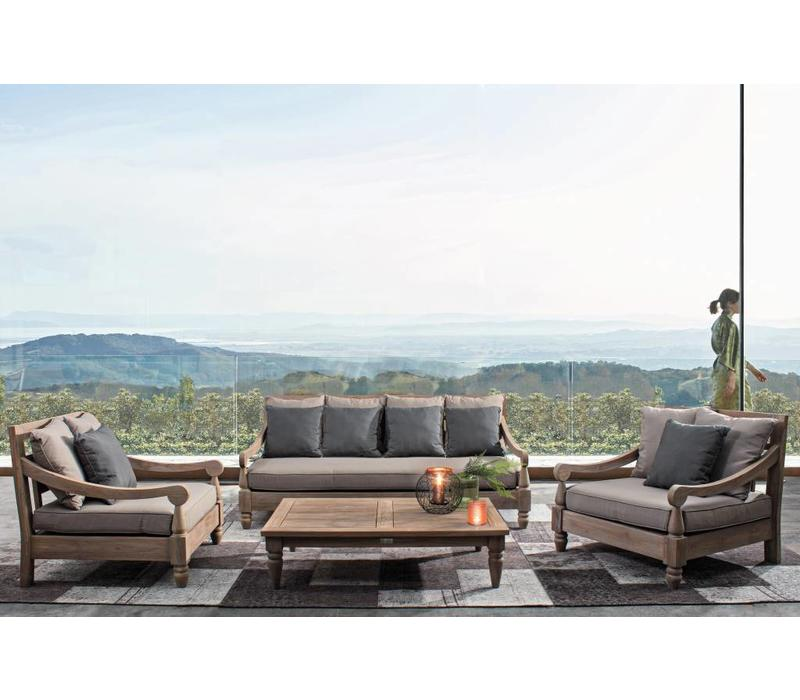 Lounge Bali | Outdoor Gartenlounge | Teak Holz FSC