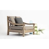 Lounge Sessel Bali | Outdoor Gartensessel | Teak Holz FSC