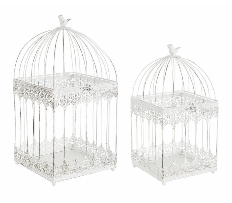 Deko Vogelkäfig Eckig | Gross