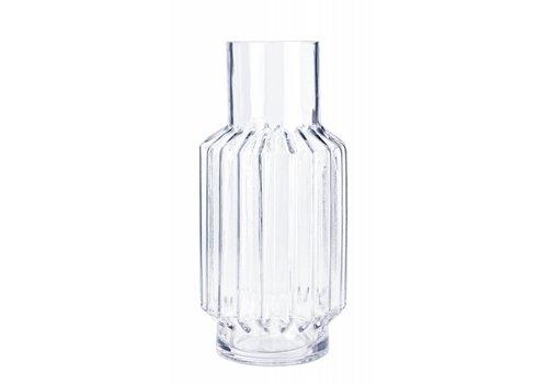 Vase Hoch | Blumenvase Transparent