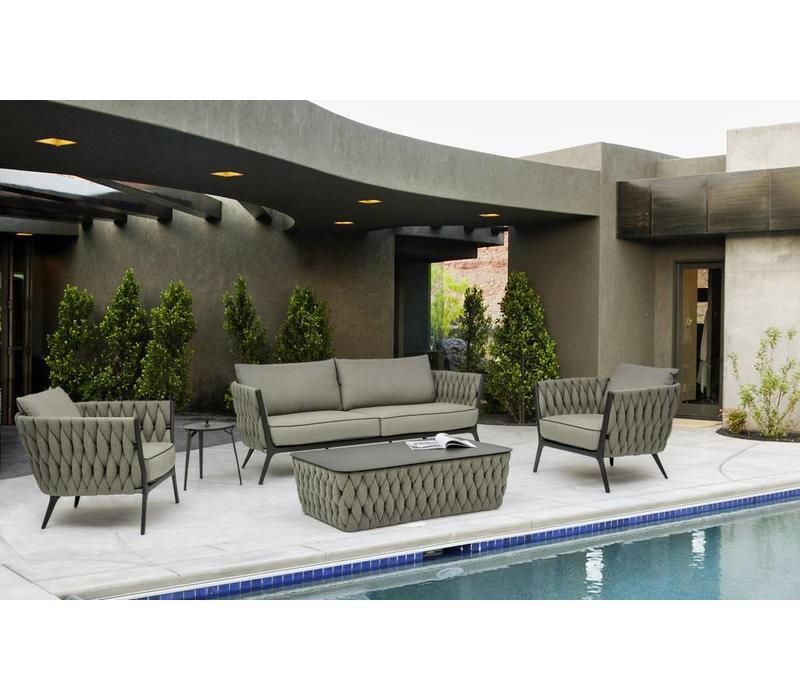 lounge tisch xilos outdoor gartentisch wetterfest. Black Bedroom Furniture Sets. Home Design Ideas