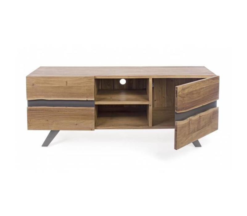 TV-Möbel Aron | Massivholz | 160x44x65 cm