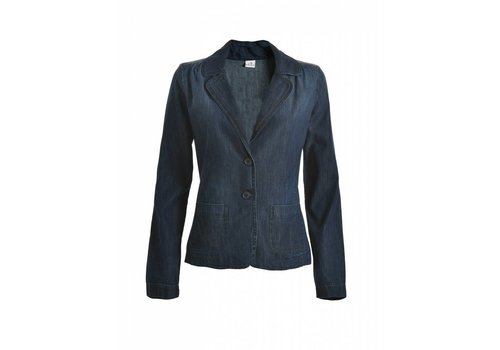 DEHA Blazer | DENIM BLAZER JACKET | BLUE