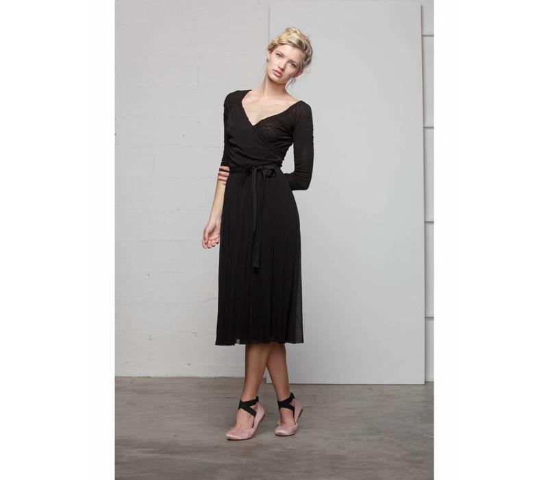 Tüllkleid | DOUBLE TULLE DRESS | BLACK