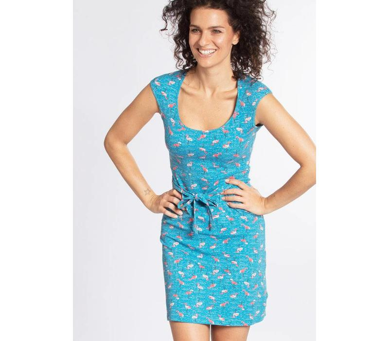 Kleid | hooponopono peace dress | flamingo bingo