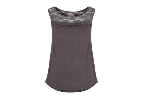 Tina Wodstrup Top | Iron grey | Grau