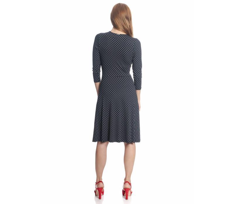 Kleid   Lucky Girl Dress   navy allover