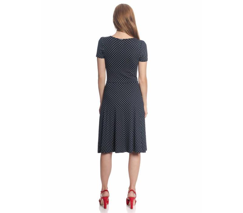 Kleid | Lucky Star Dress | blue allover