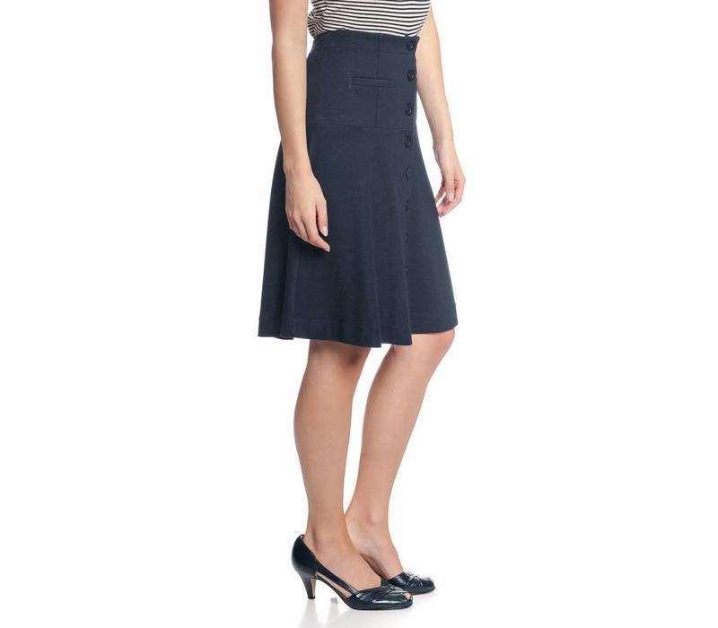 Rock   City Sailor Skirt   navy
