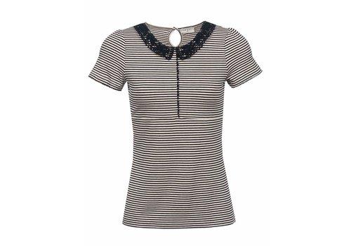 Vive Maria Shirt | Sailor Day Shirt  | navy - creme