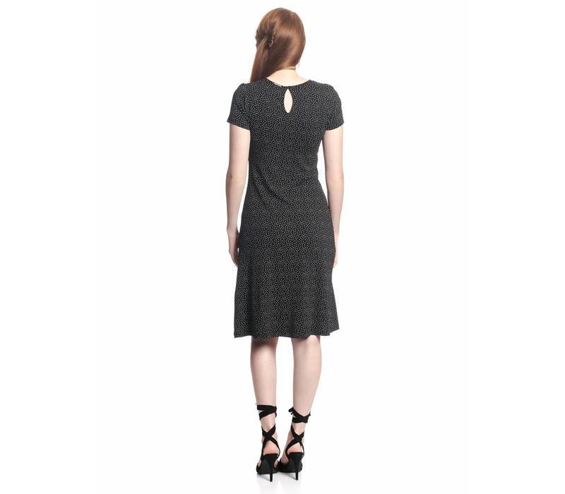Kleid | Camille Volant Dress  | black
