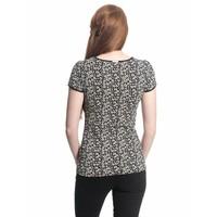 Shirt | City Flower Shirt | black