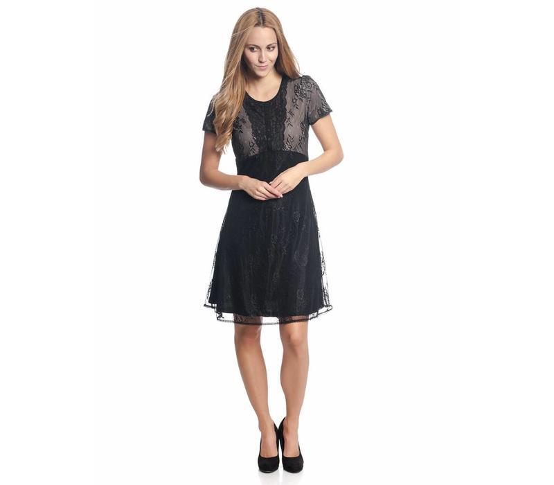 Kleid | Summer Lace Dress | black