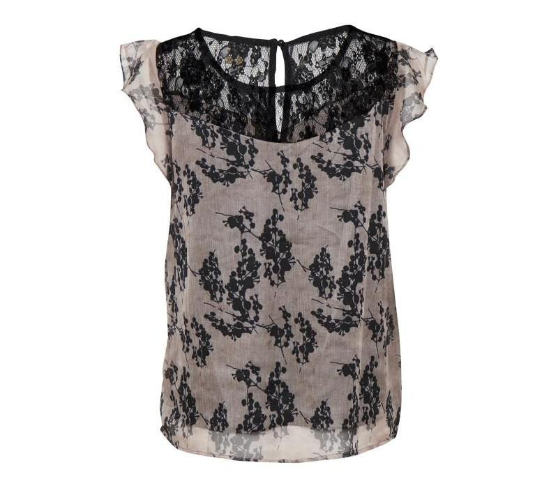 Top | Loreen Top | Washed Rose