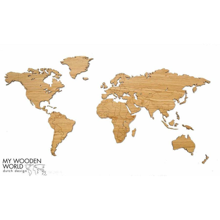 holz weltkarte Weltkarte Holz helles Eiche   My Wooden World holz weltkarte