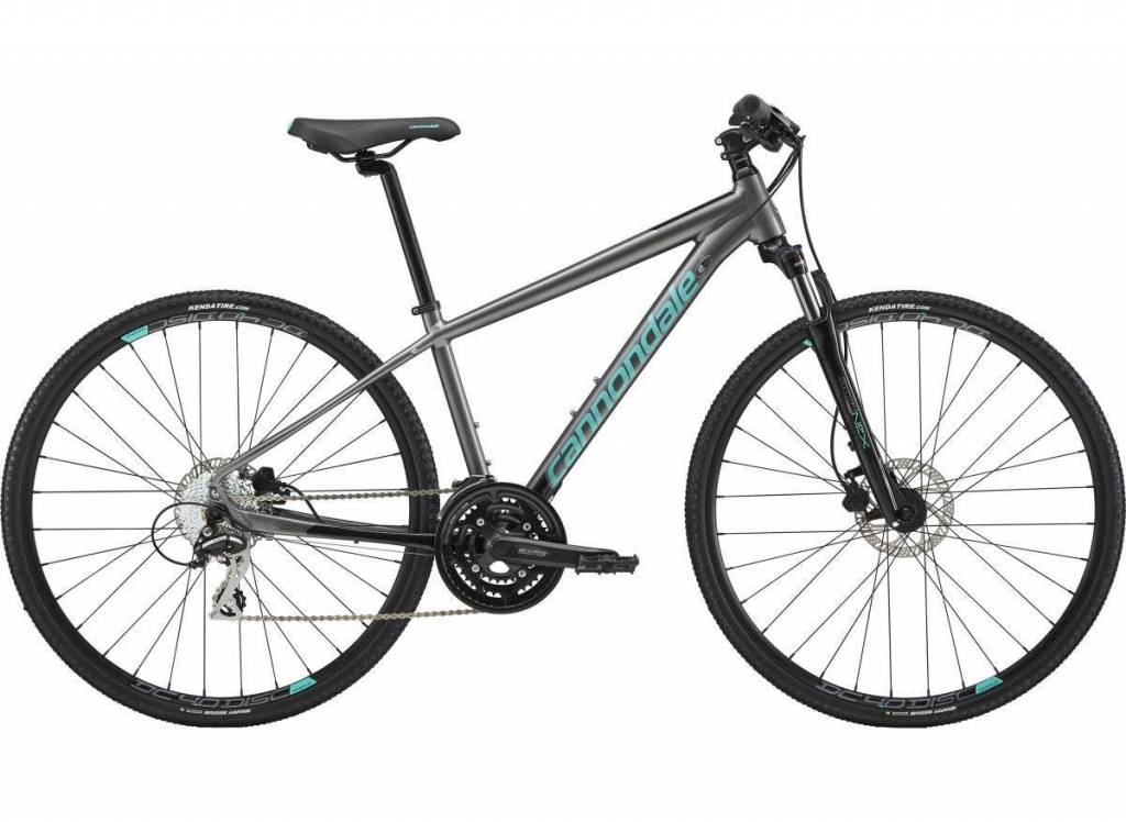 Cannondale Cannondale Quick Althea 3 Womens 650b Grey/Teal 2018