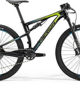 Merida Merida Ninety-Six 7.6000 2018 Black/Green/Blue