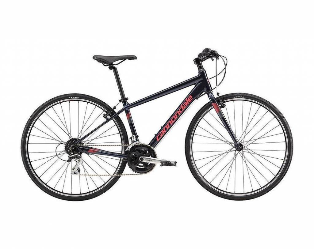 Cannondale Cannondale Quick 7 Womens City Bike 2018/2019 Black/Red