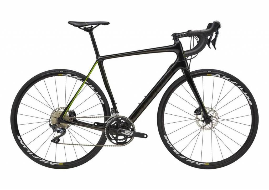 Cannondale Cannondale Synapse Carbon Disc Ultegra Black/Dark Grey/Green 2018