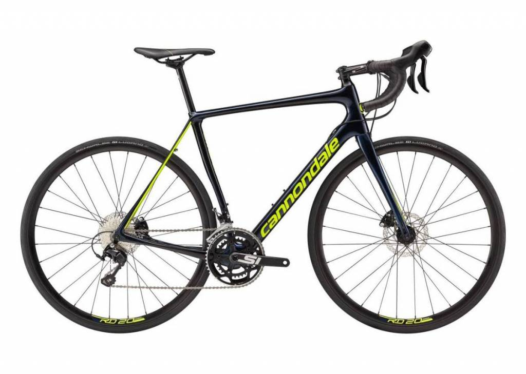 Cannondale Cannondale Synapse Carbon Disc 105 Dark Blue/Green 2018