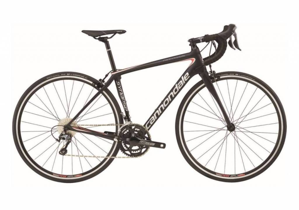 Cannondale Cannondale Synapse Carbon Tiagra Womens Black/White/Pink 2018