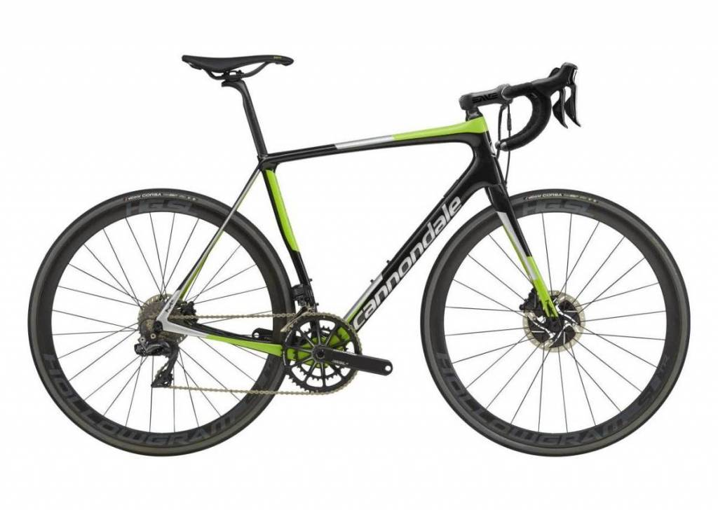 Cannondale Cannondale Synapse HM Disc Dura Ace Di2 Black/Green/Silver 2018