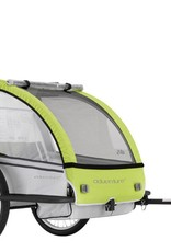 Adventure ADVENTURE OUTDOOR AT5 - alloy 2 seater bicycle trailer