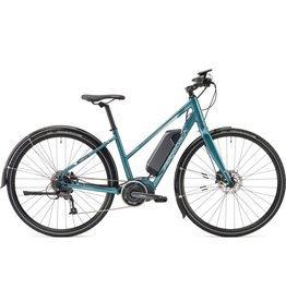 Ridgeback EBike Ridgeback 2018 Cyclone Electric Bike Open Frame Blue
